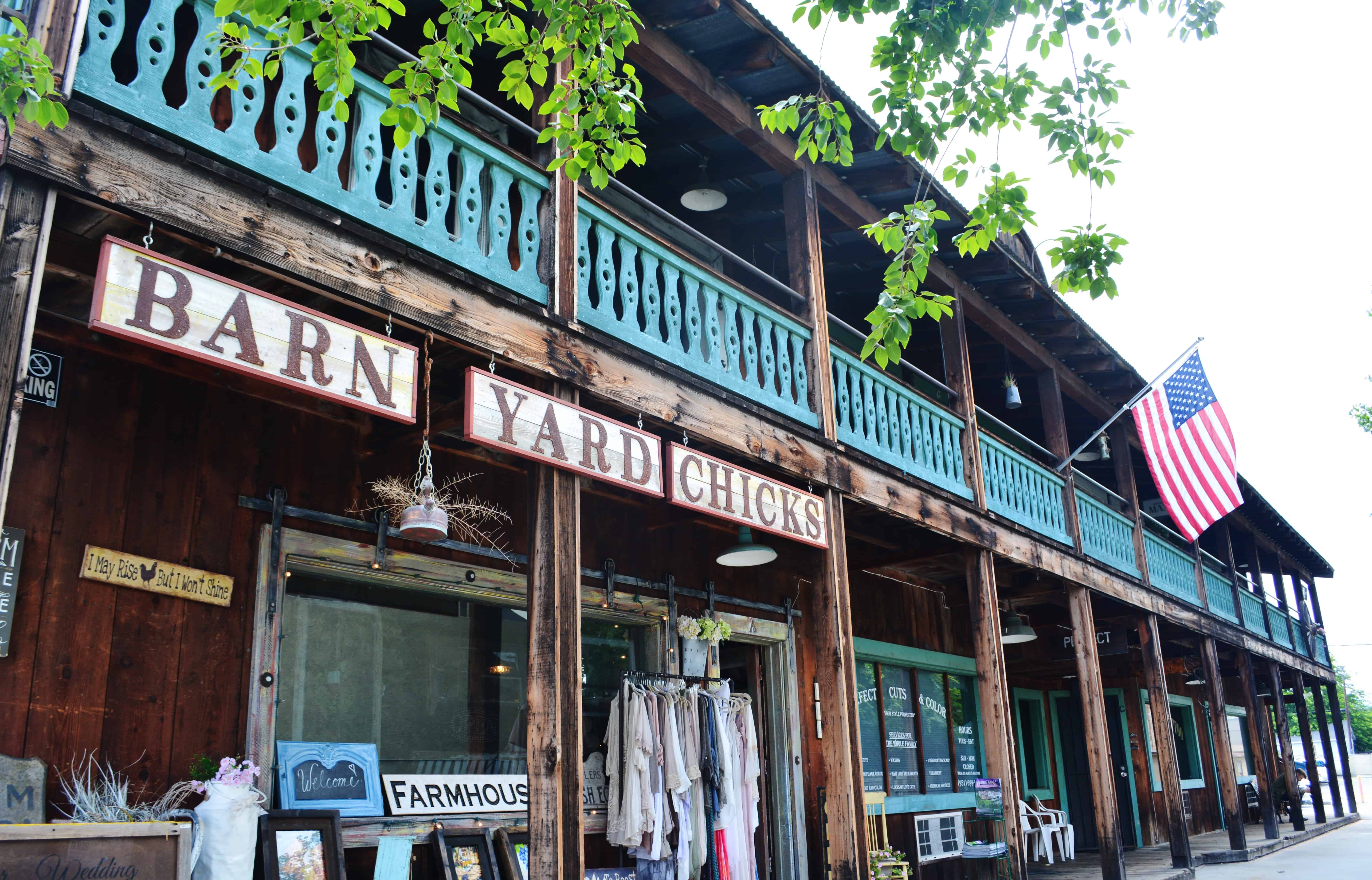Boutique Shops in Old Town Temecula