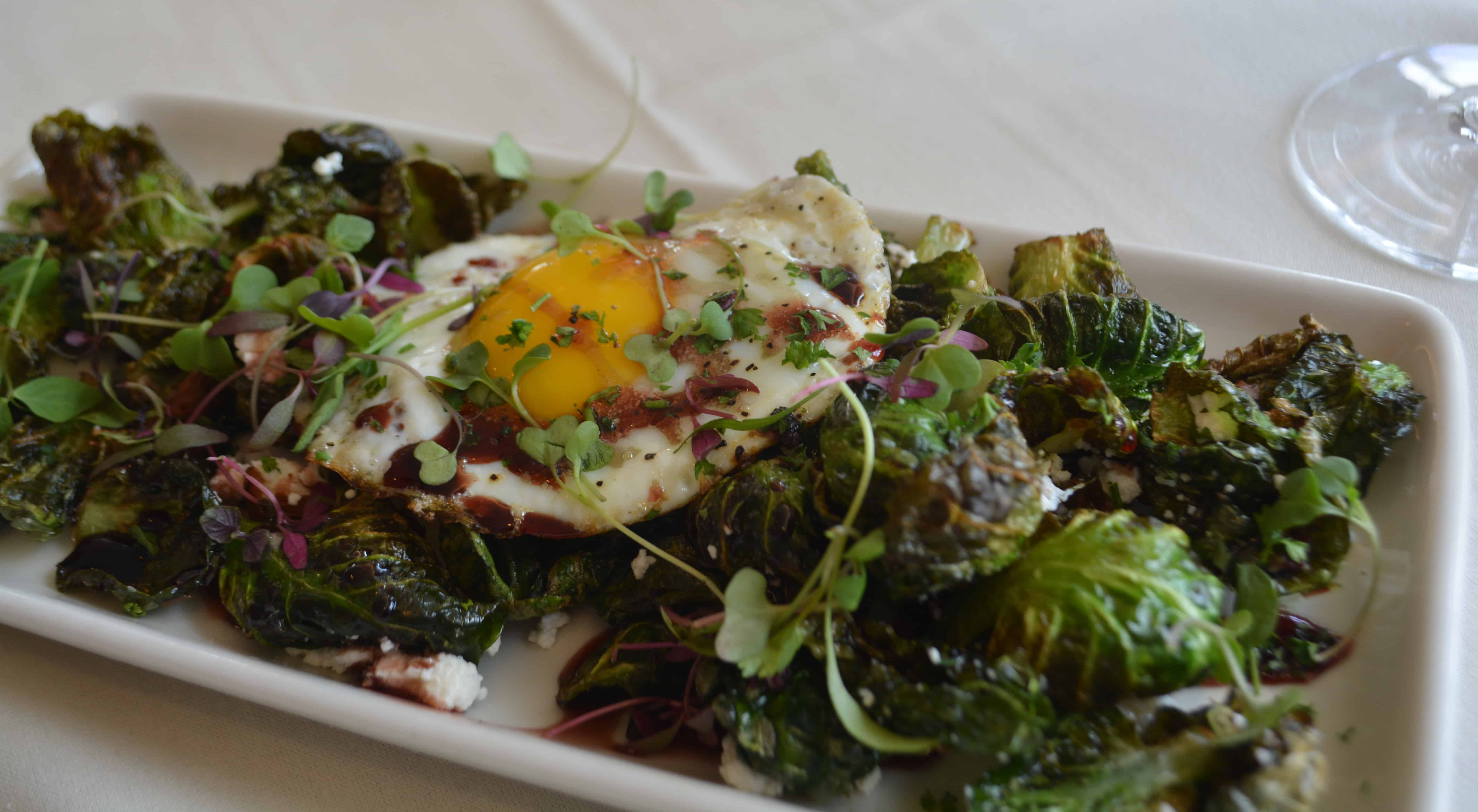 Brussels Sprouts from Pinnacle Restaurant
