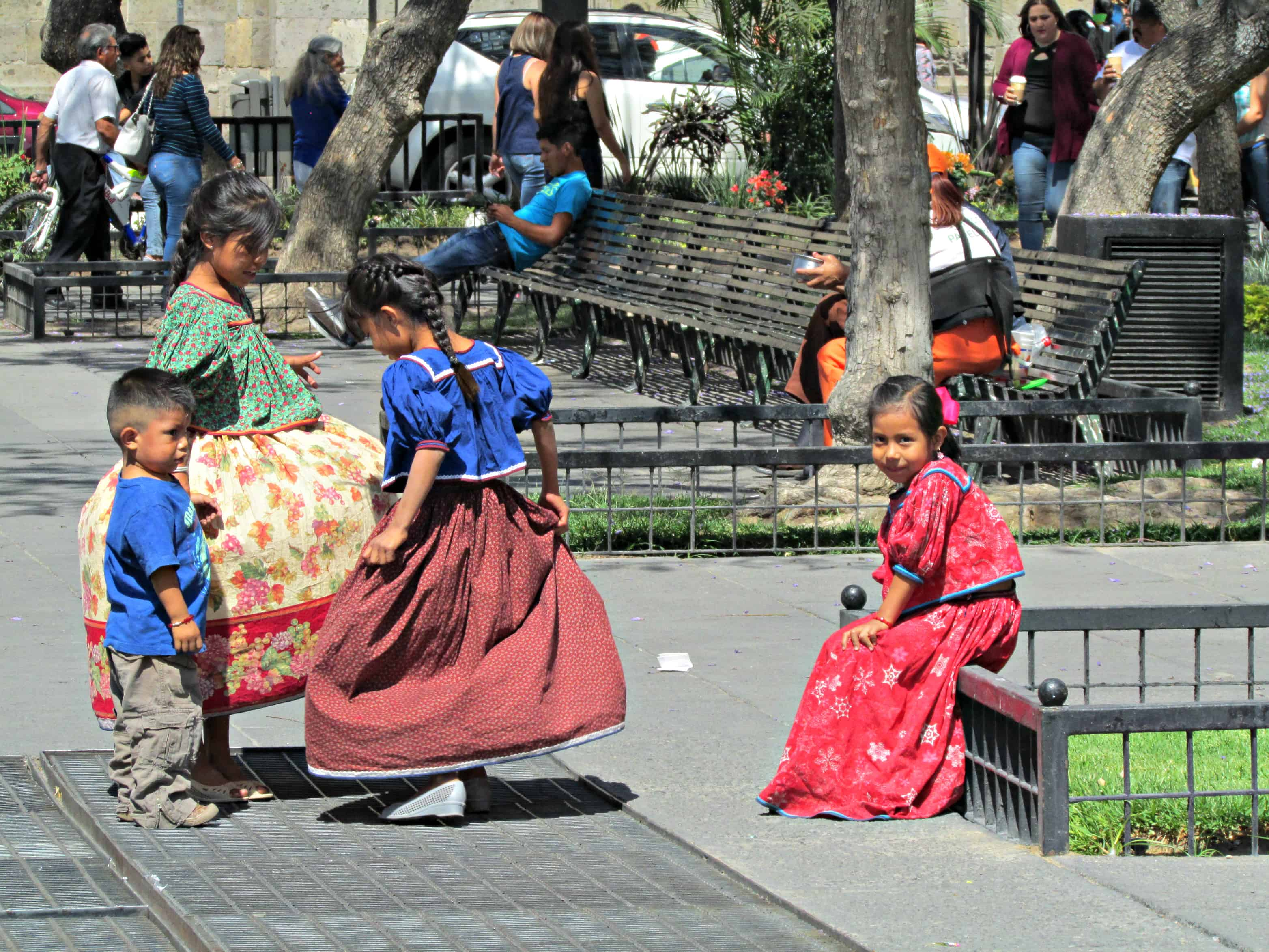 Children playing in Guadalajara