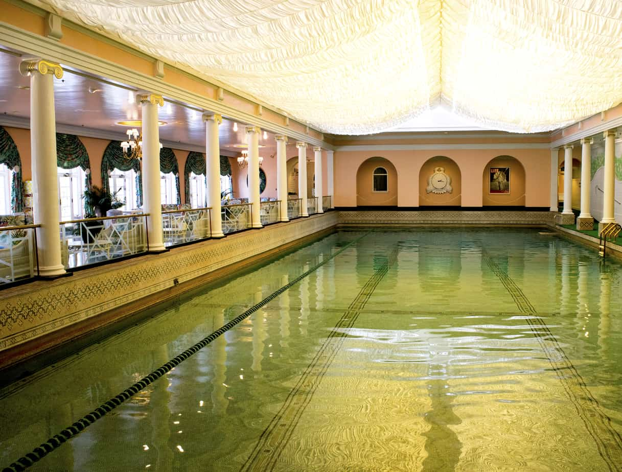 Indoor Pool The Greenbrier