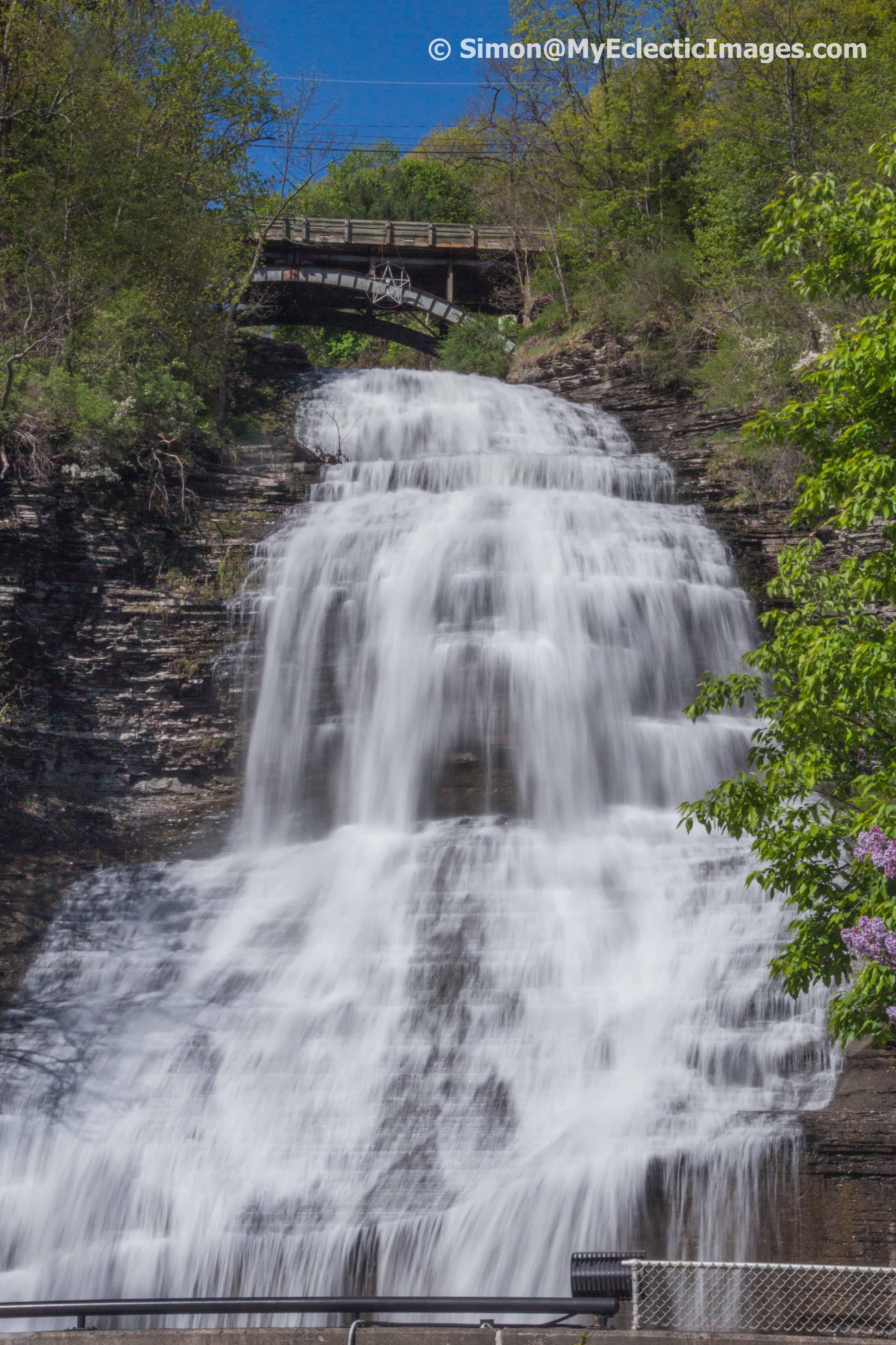 Shequaga Falls near Watkins Glen NY