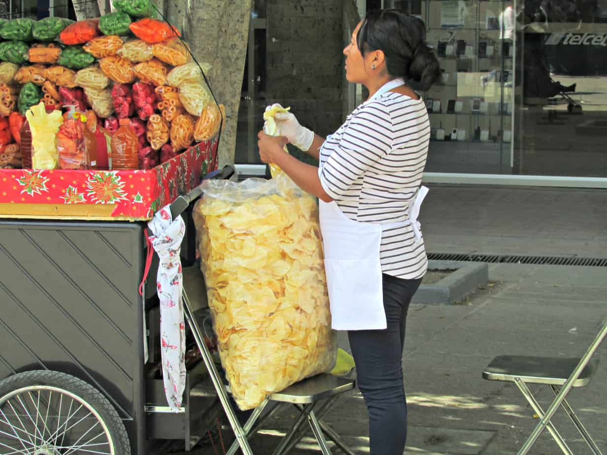 Street Vendor in Guadalajara