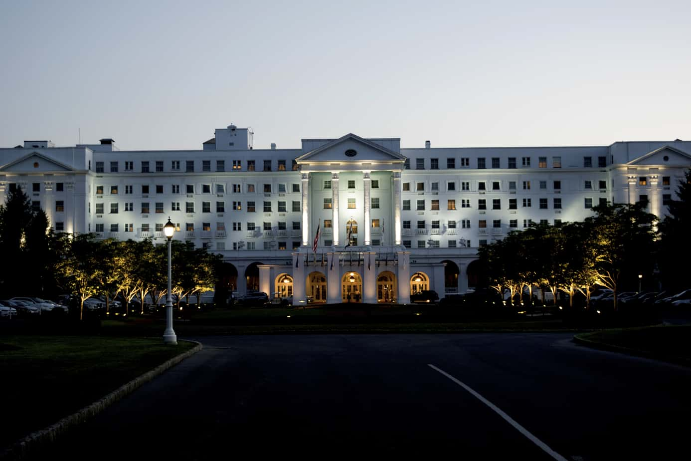 The Greenbrier at Dusk
