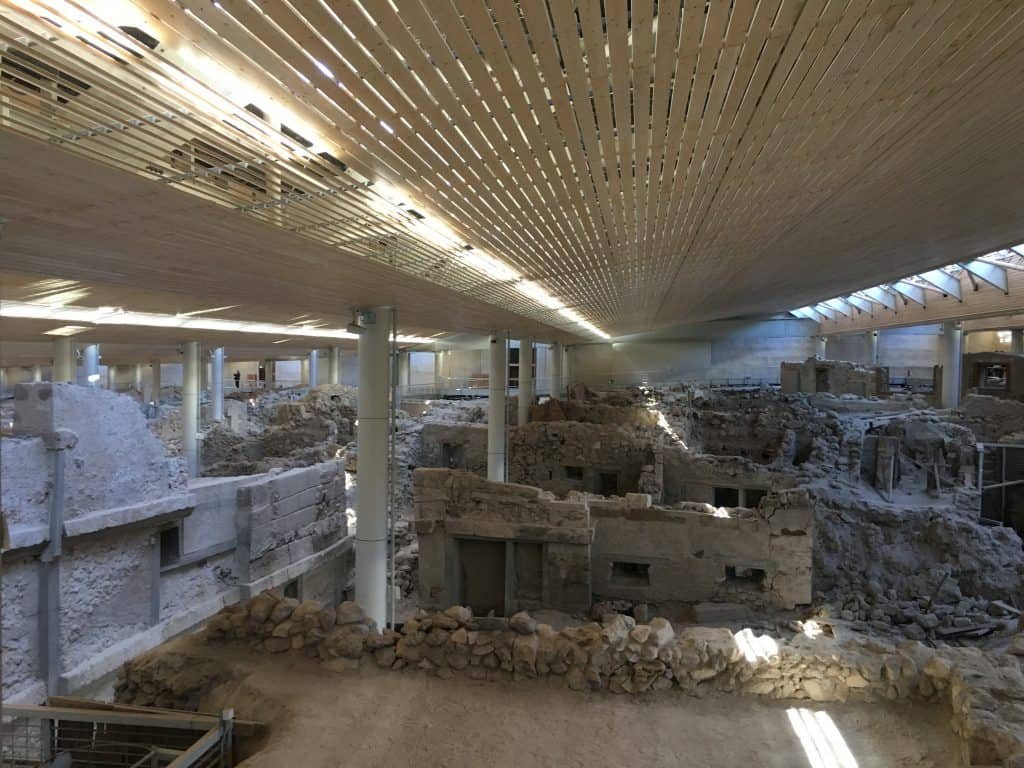Akrotiri of Thera Ruins