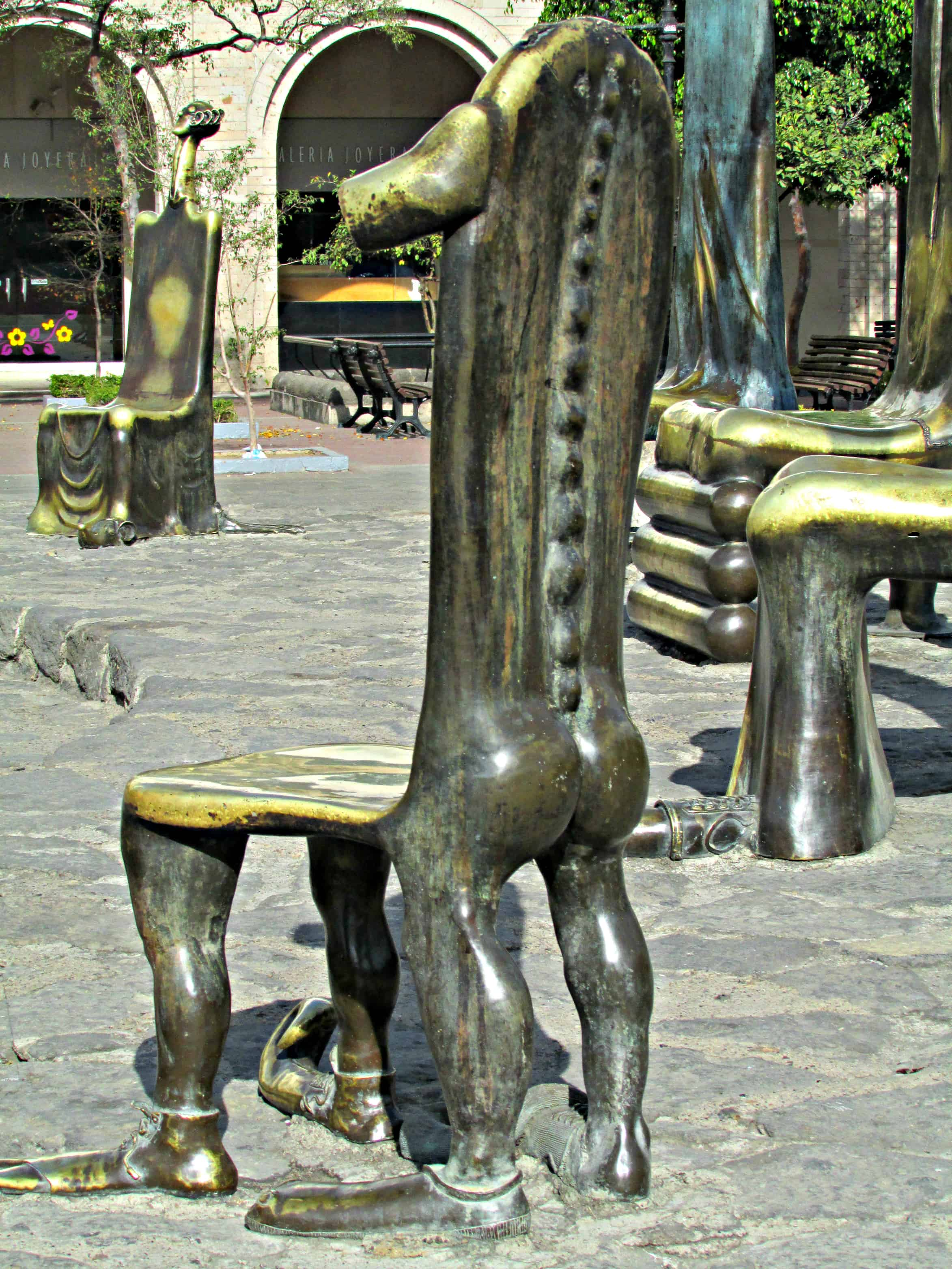 Bronze Seats by Alejandro Colunga