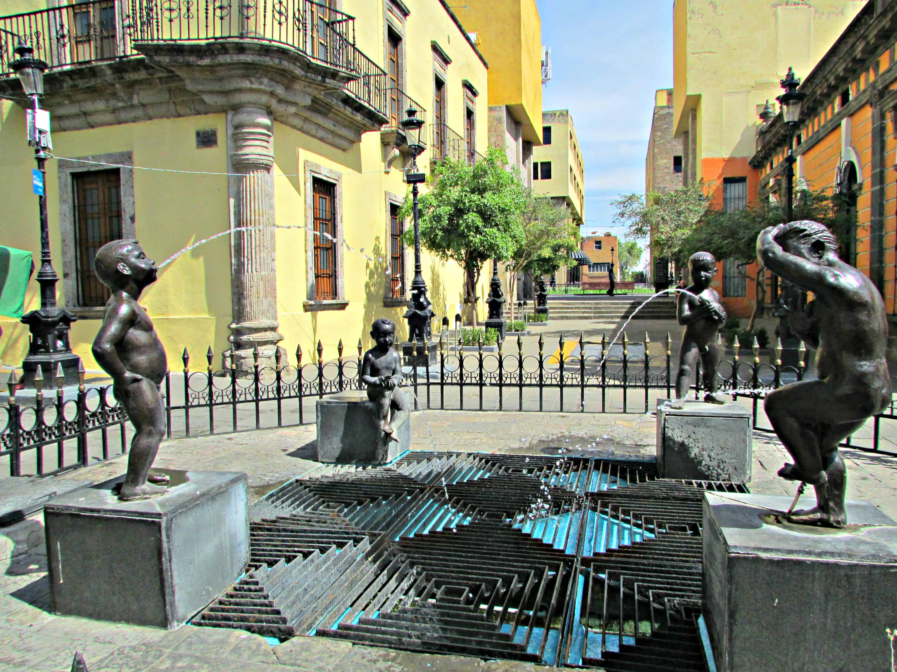 Children's Fountain Guadalajara