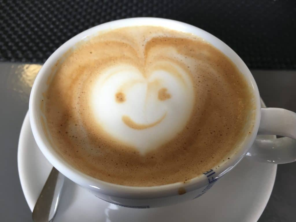 Coffee Served with Love