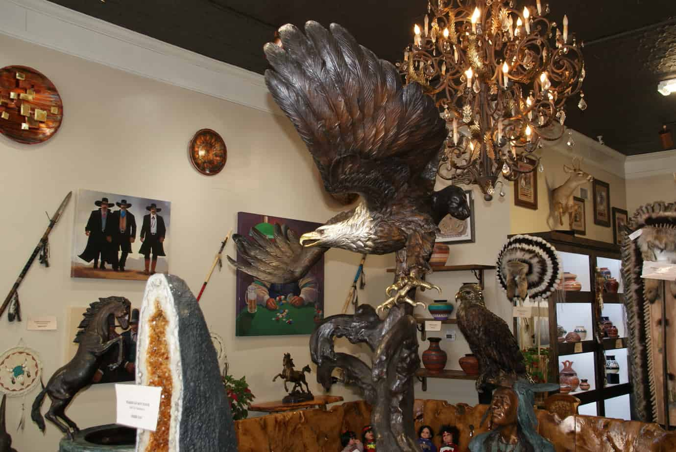 Cool shops in Fredericksburg Texas