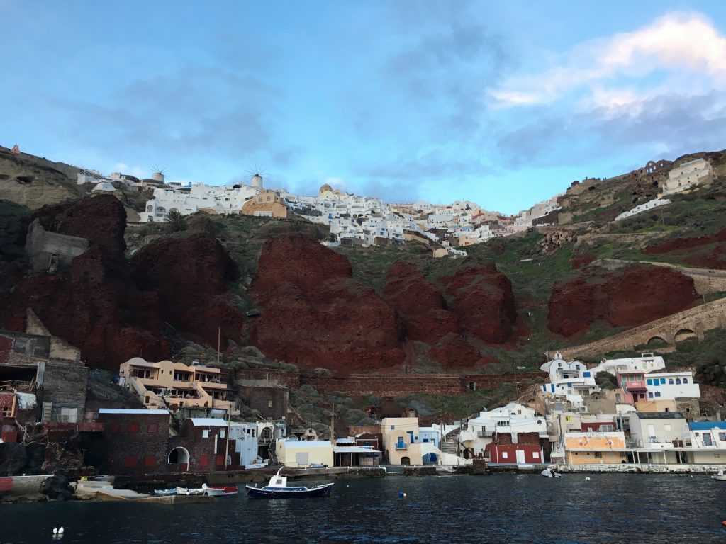 View of Oia from Sunrise