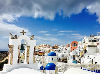 View over Oia