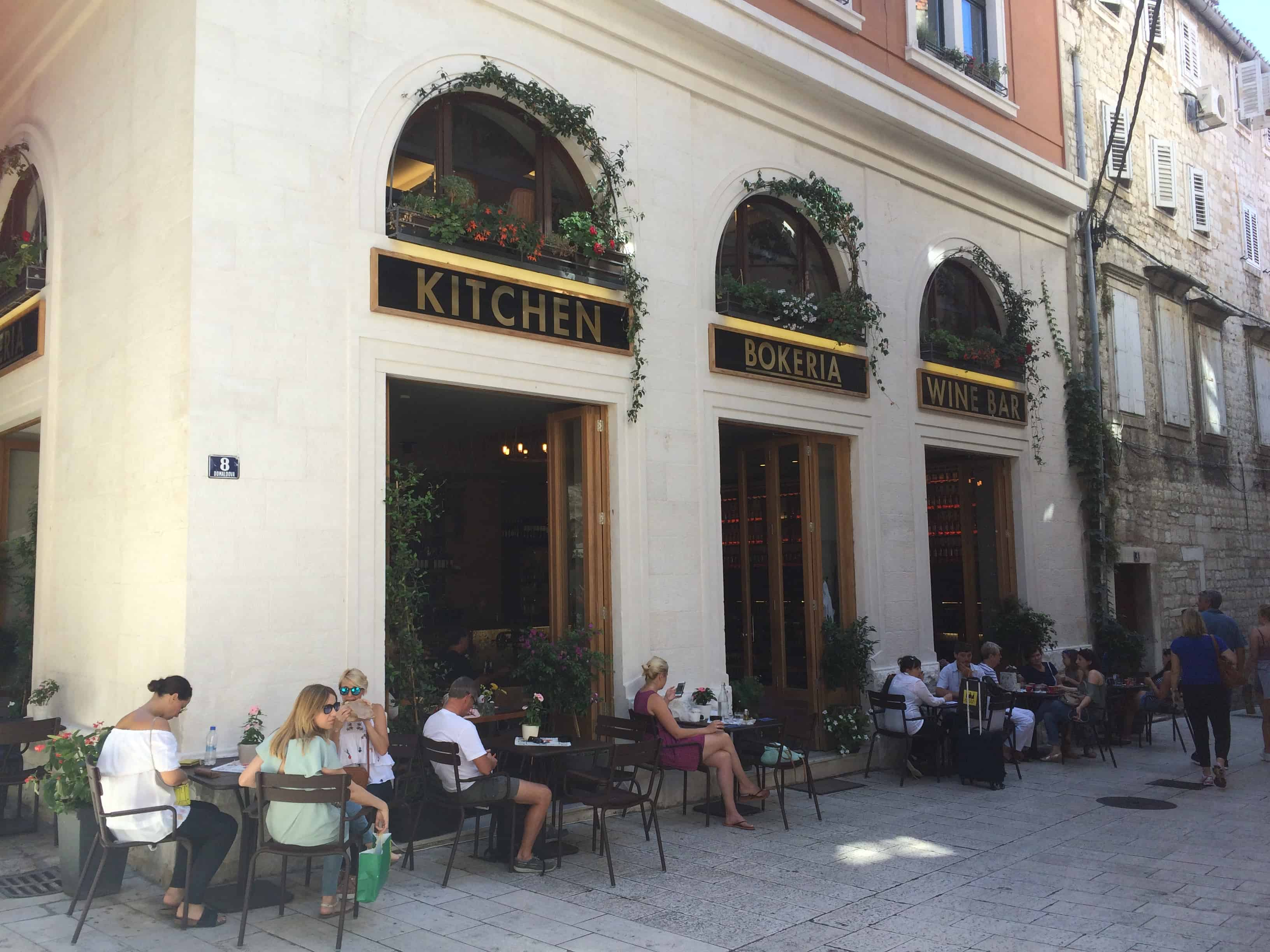 Bokeria Kitchen and Bar Split Croatia