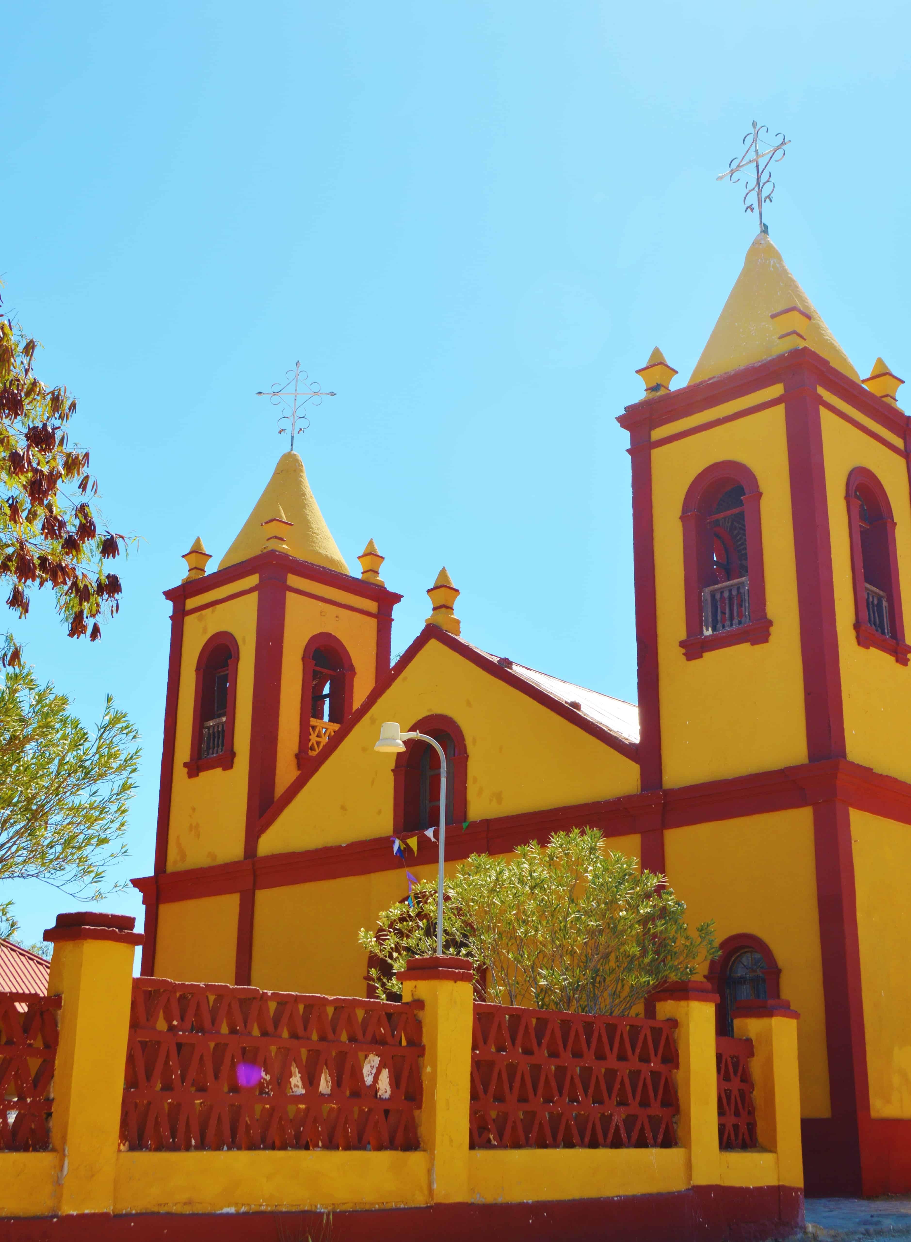 Church in El Triunfo Baja Mexico