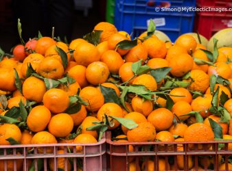 Clementines in the Nazareth Market