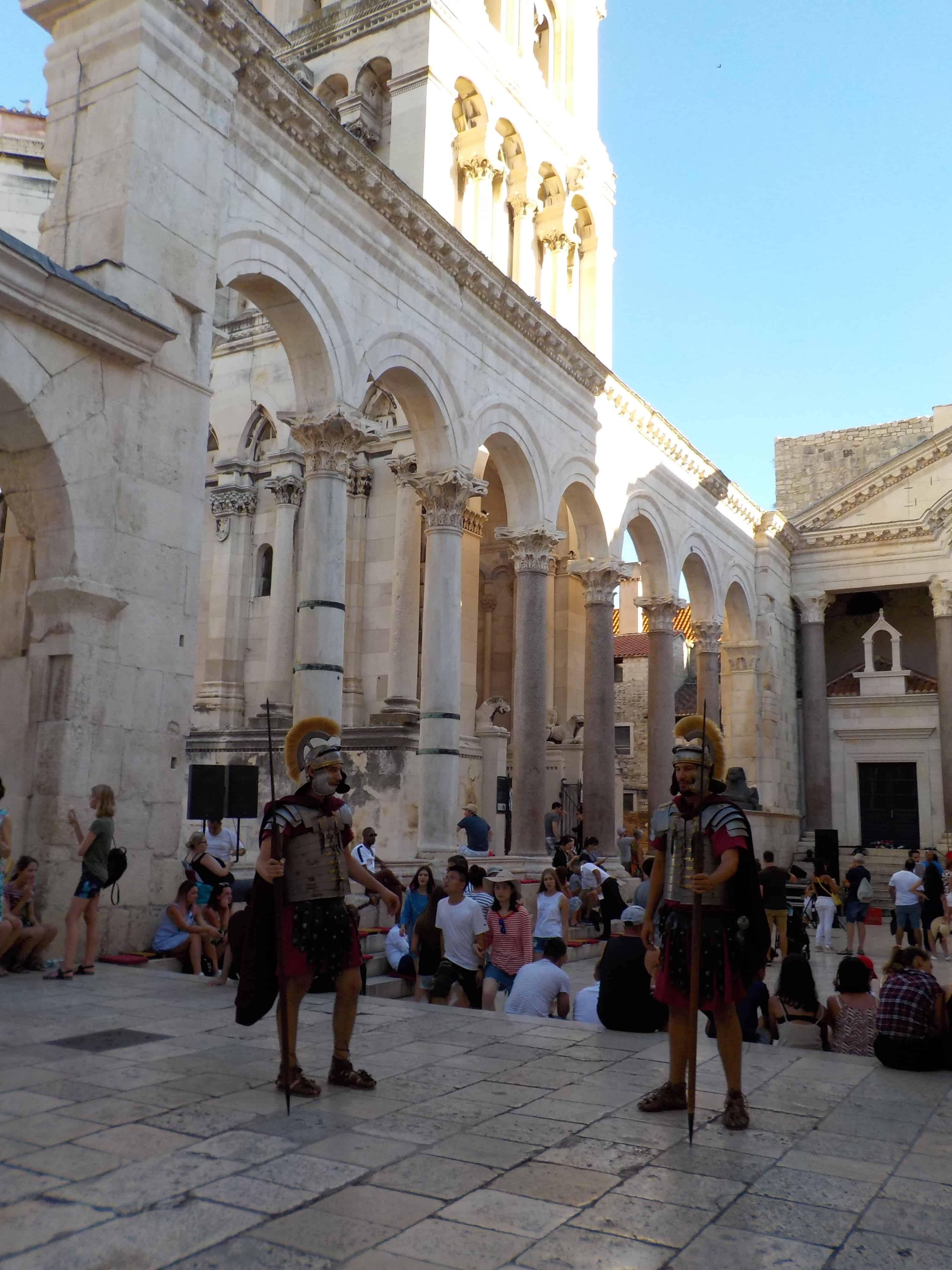 Gladiators at the Main Square Split