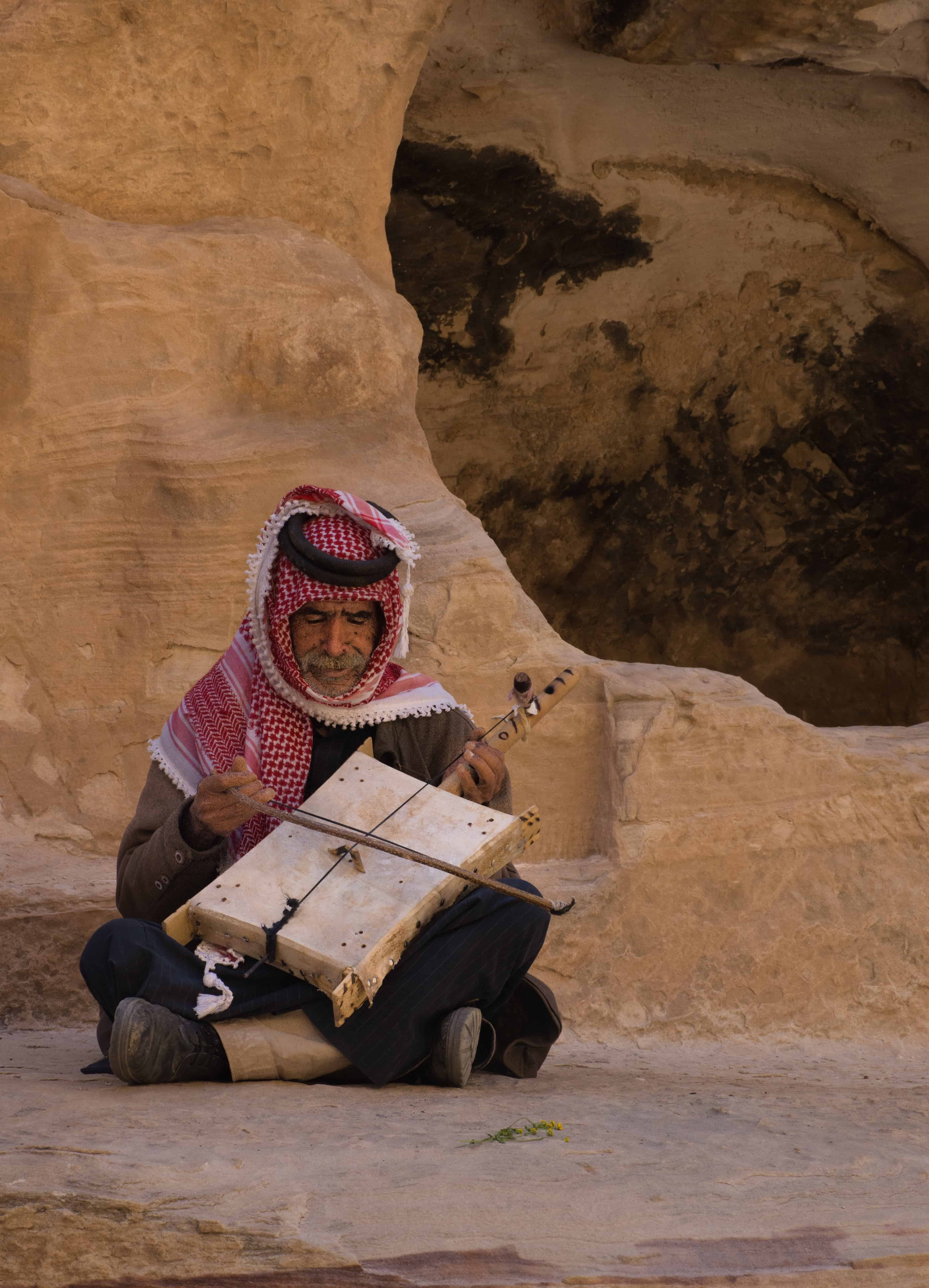 Little Petra Musician