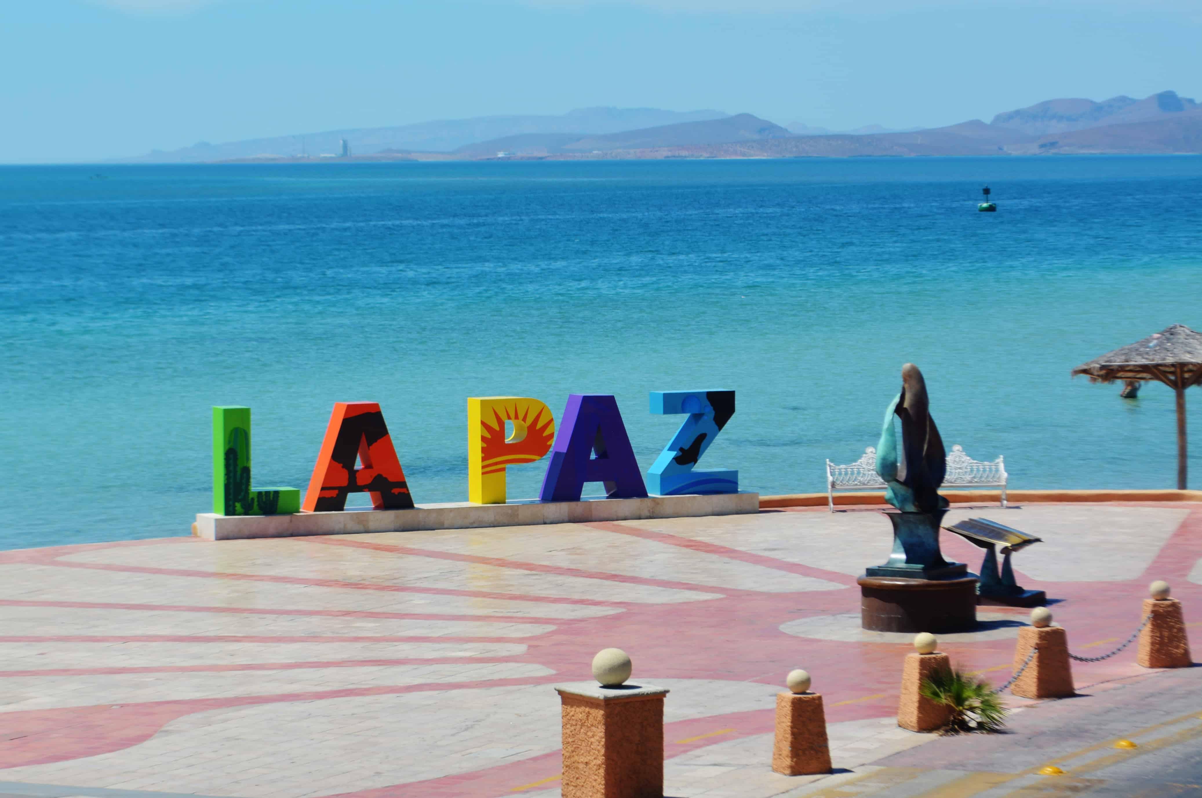 Malecon of La Paz