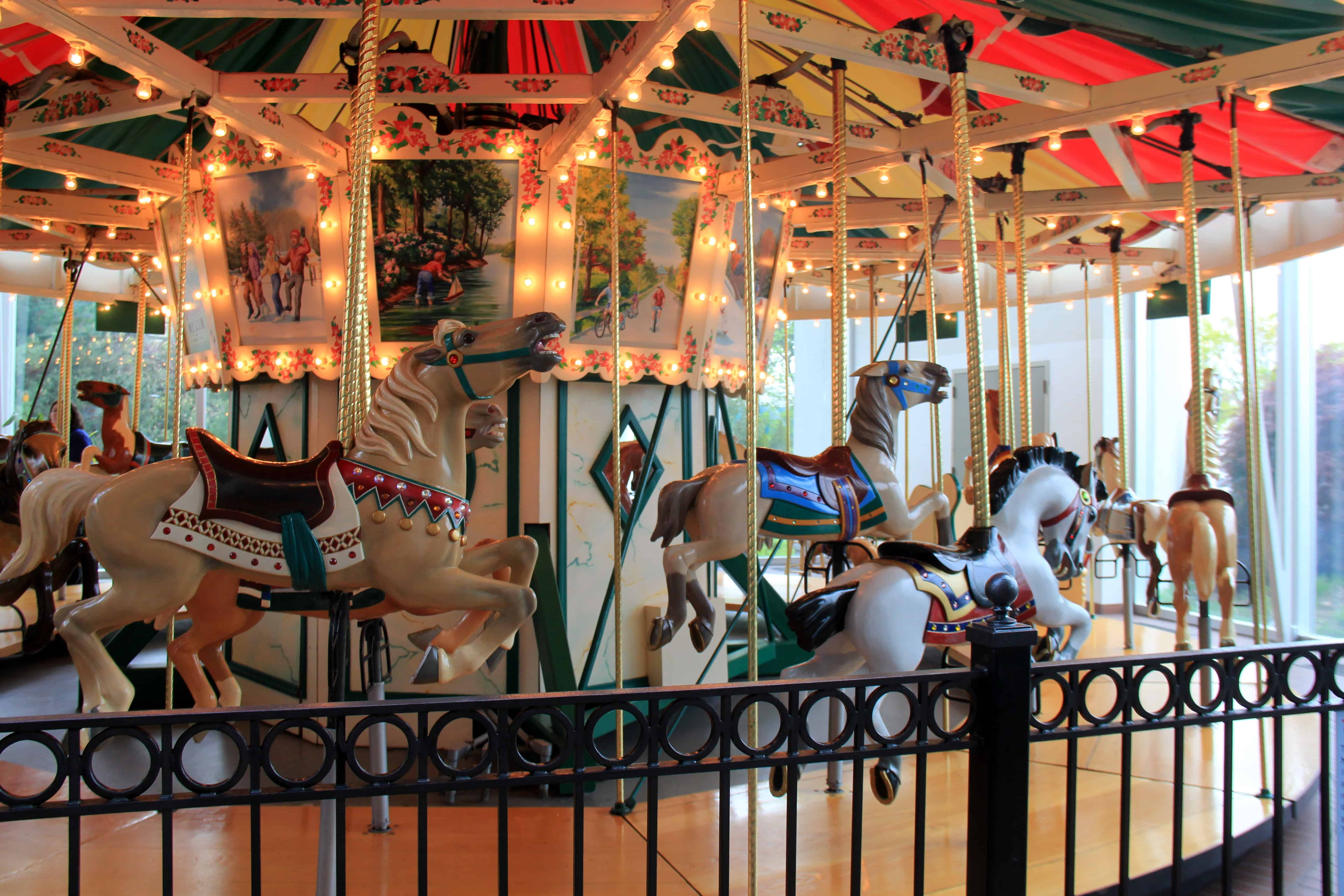Restored 1918 Carousel Strong Museum