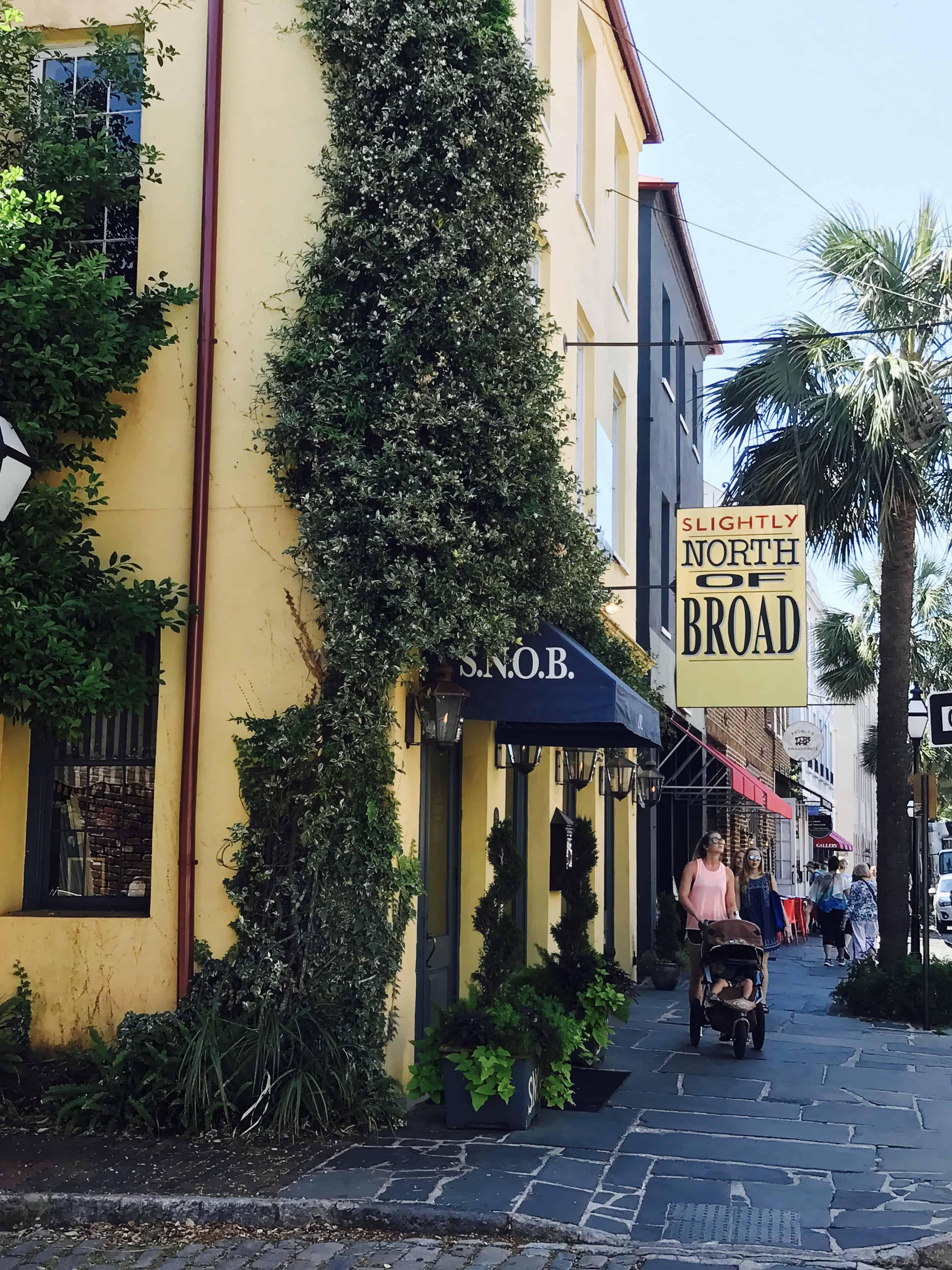 S.N.O.B. Charleston exterior