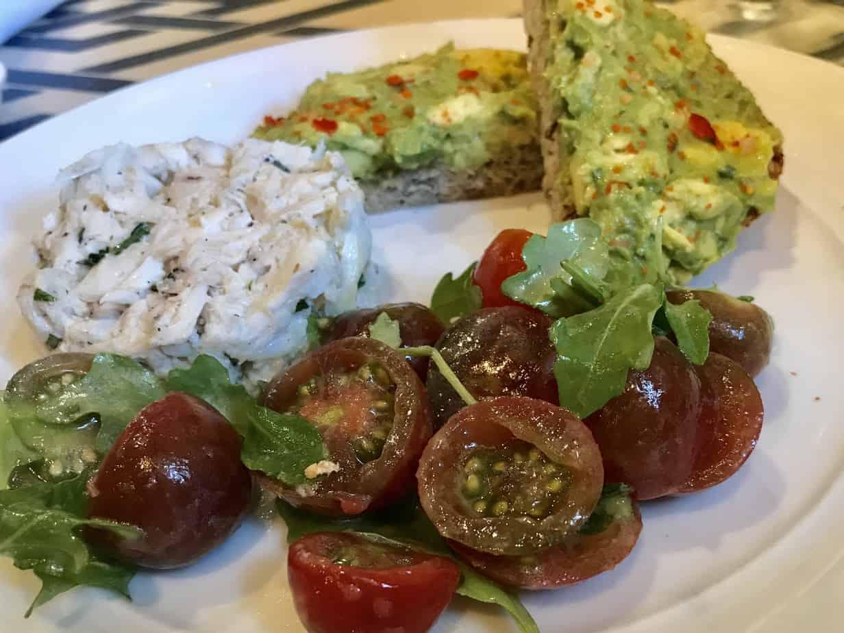 S.N.O.B. Lump crab salad