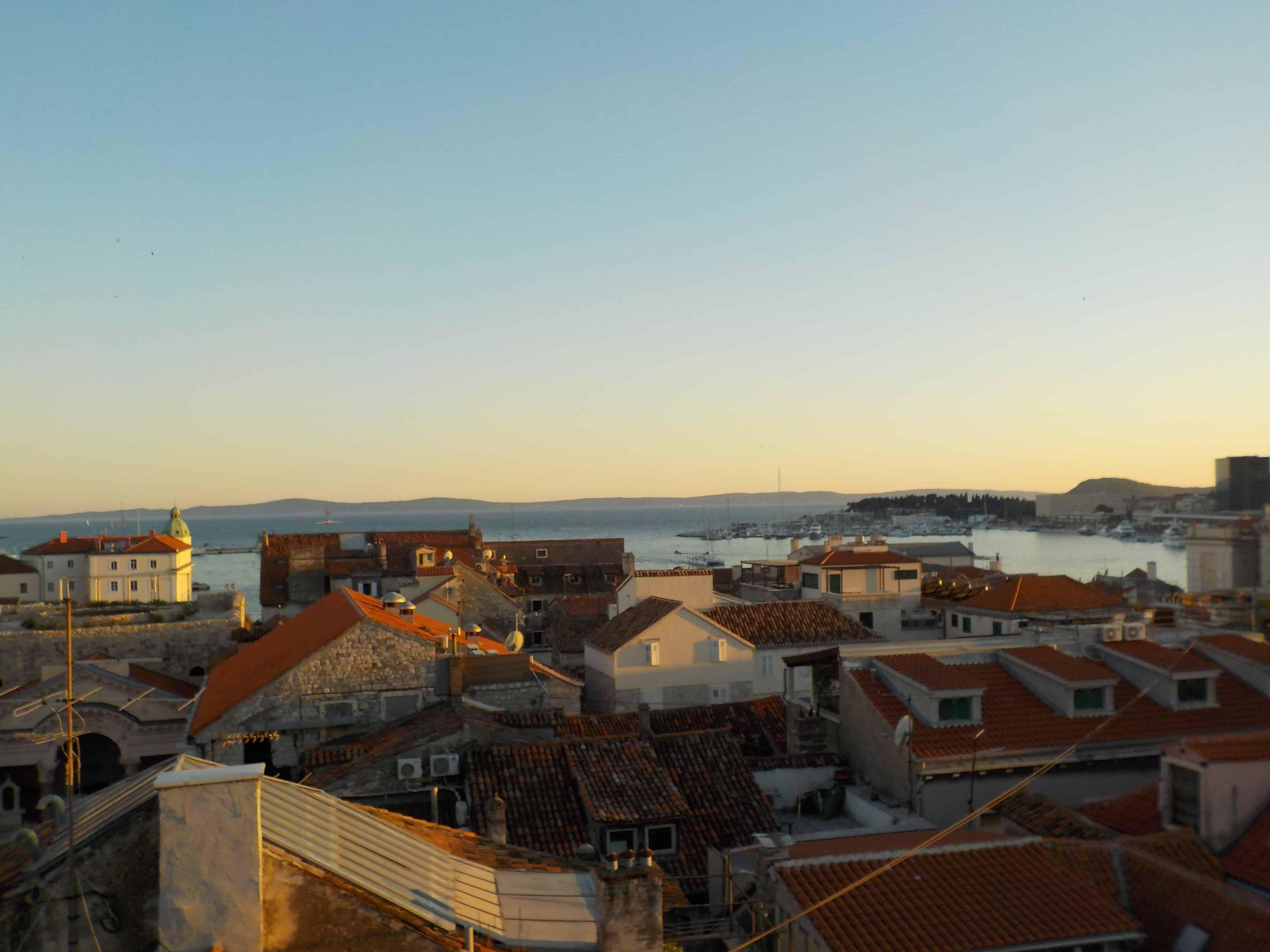 Split Croatia at Dusk