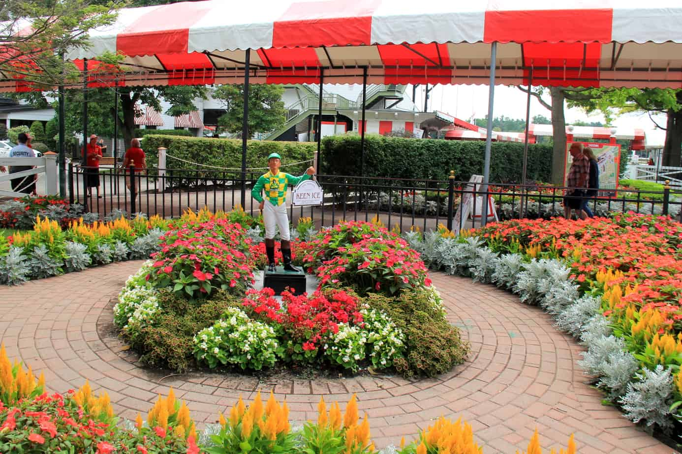 Spring Plantings Saratoga Race Course