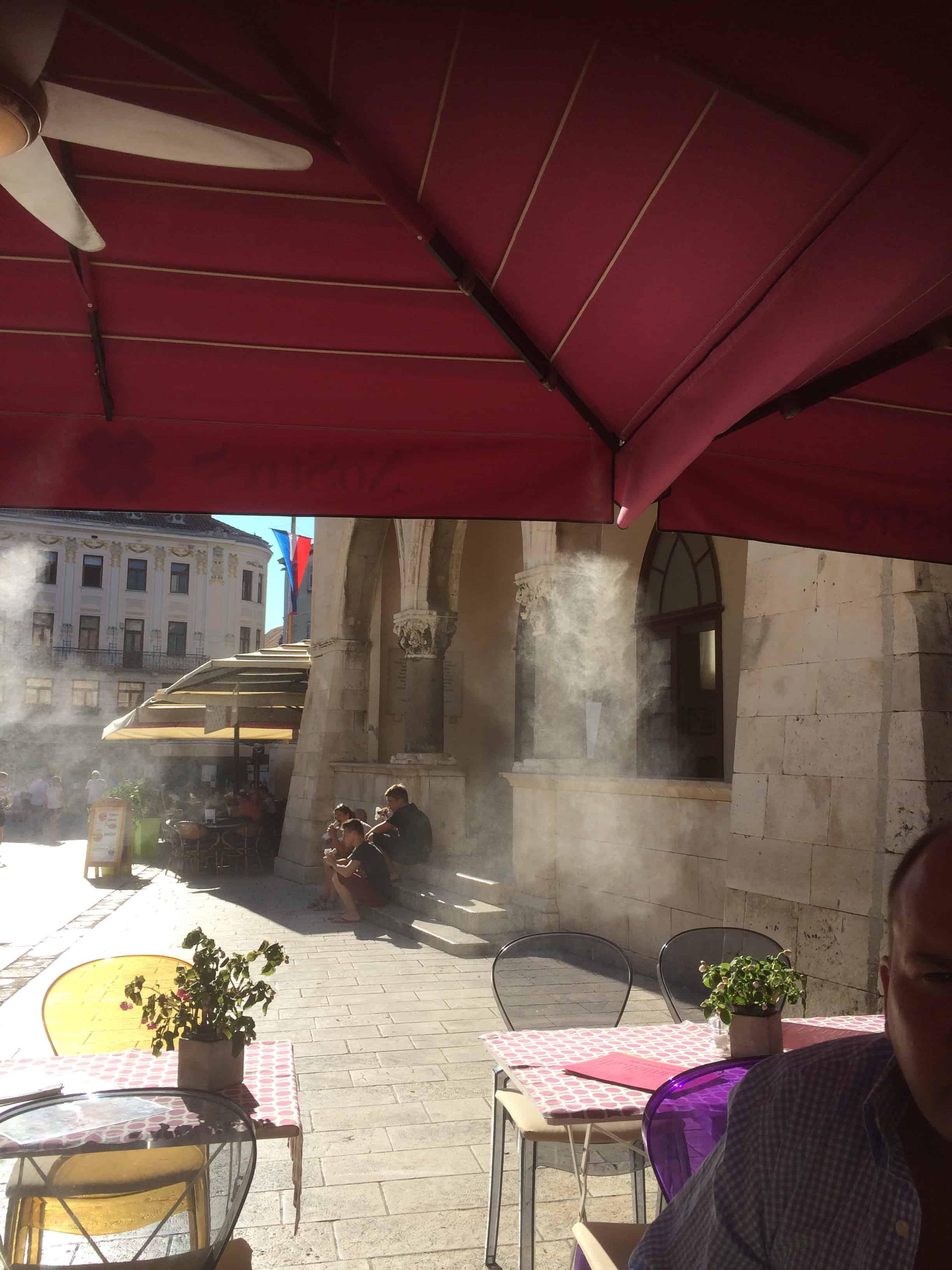 The Mist at the No Stress Bistro Split Croatia