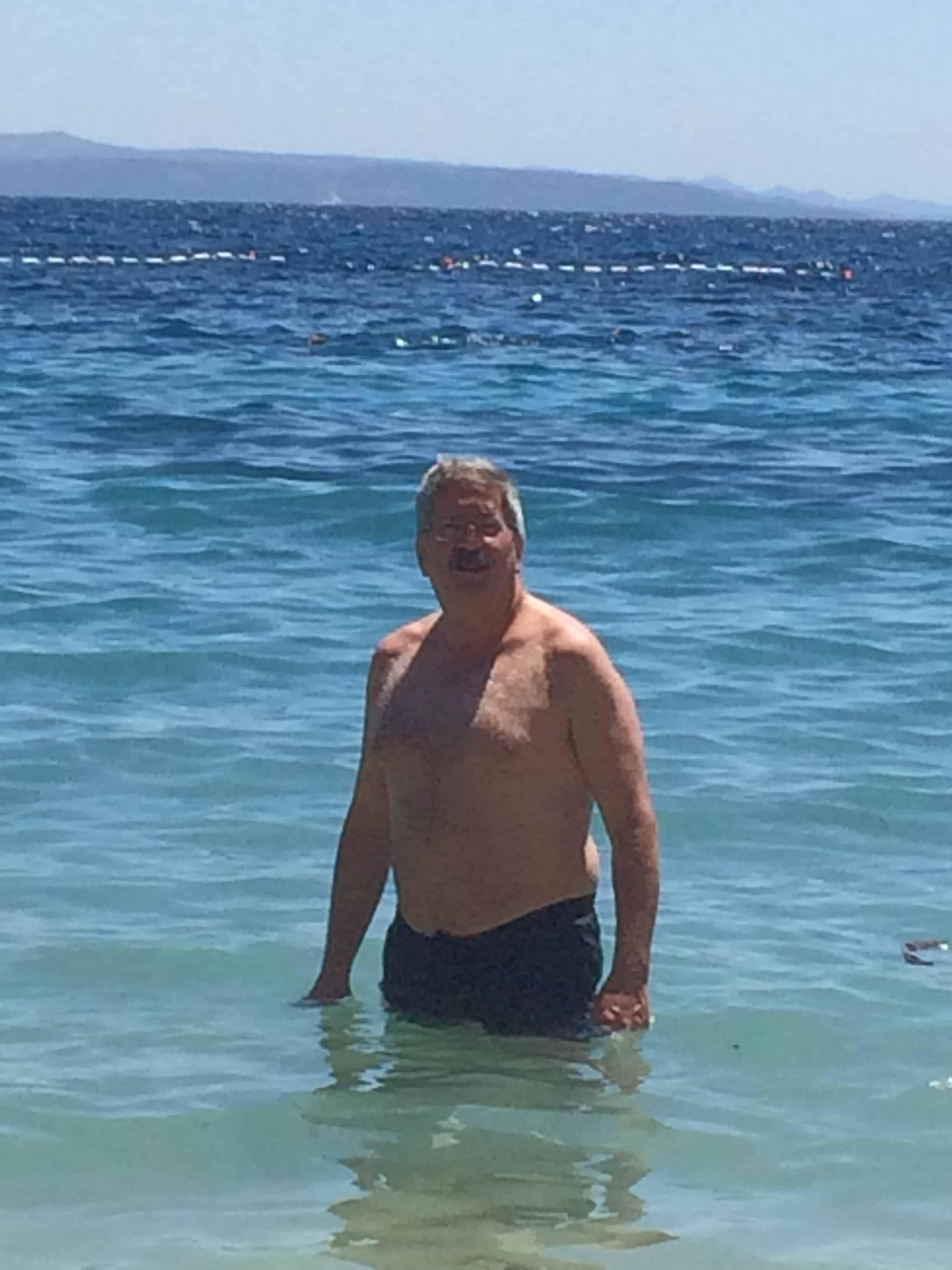 The must-do swim in the Adriatic