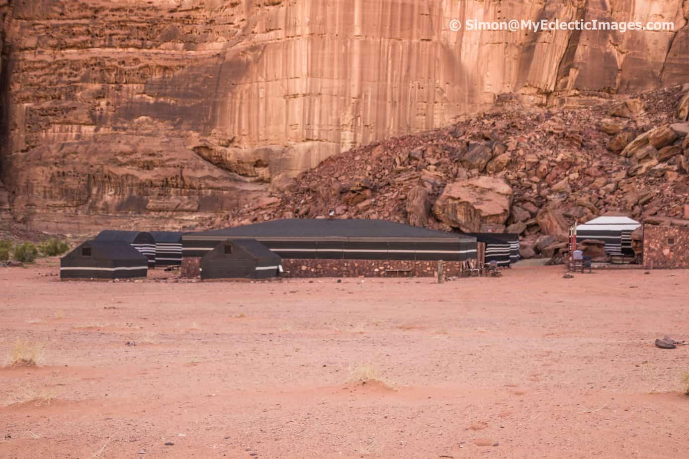 Wadi Rum Tours Desert Encampment