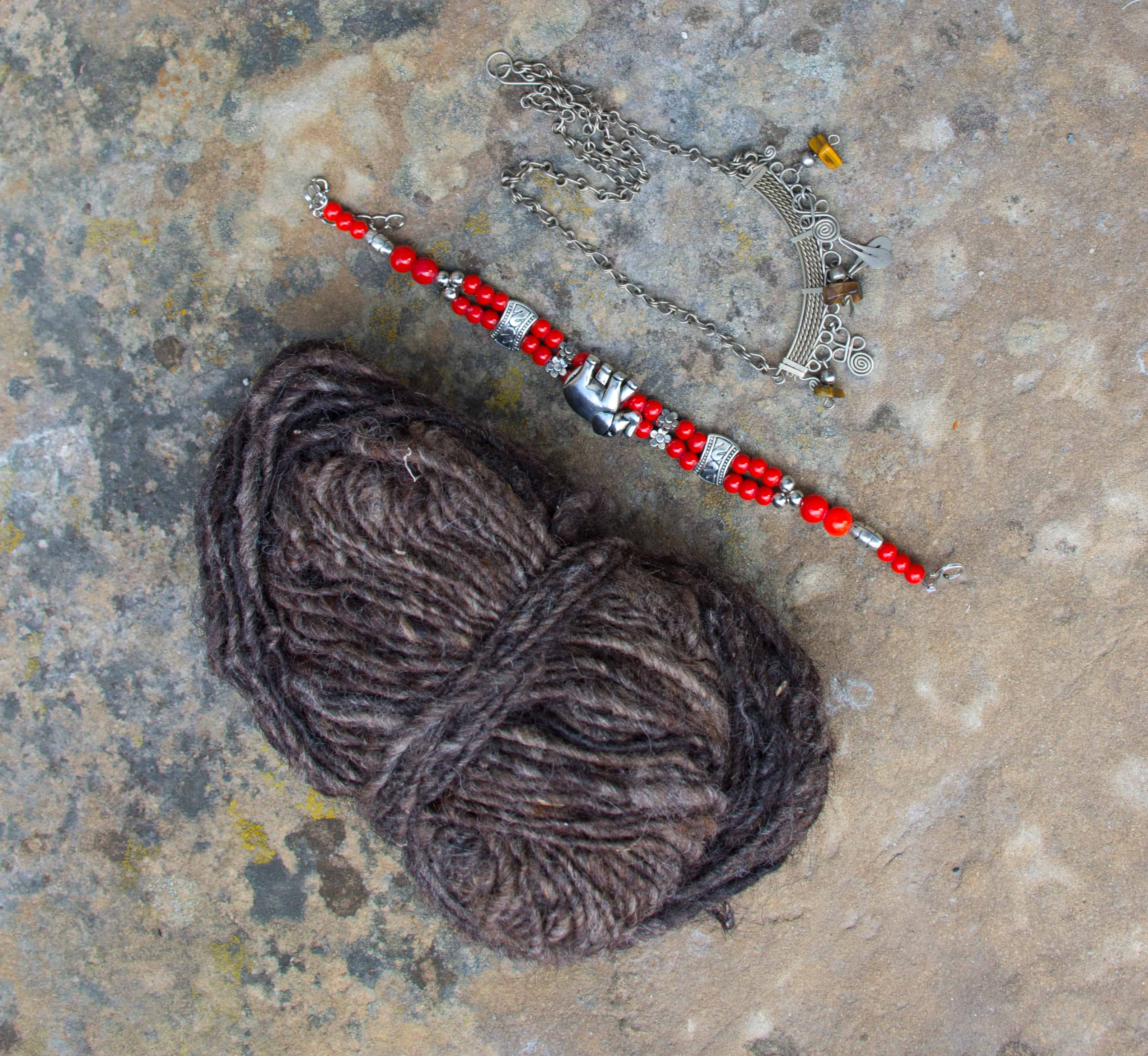 Handspun Yarn and Jewelry shopping in Jordan