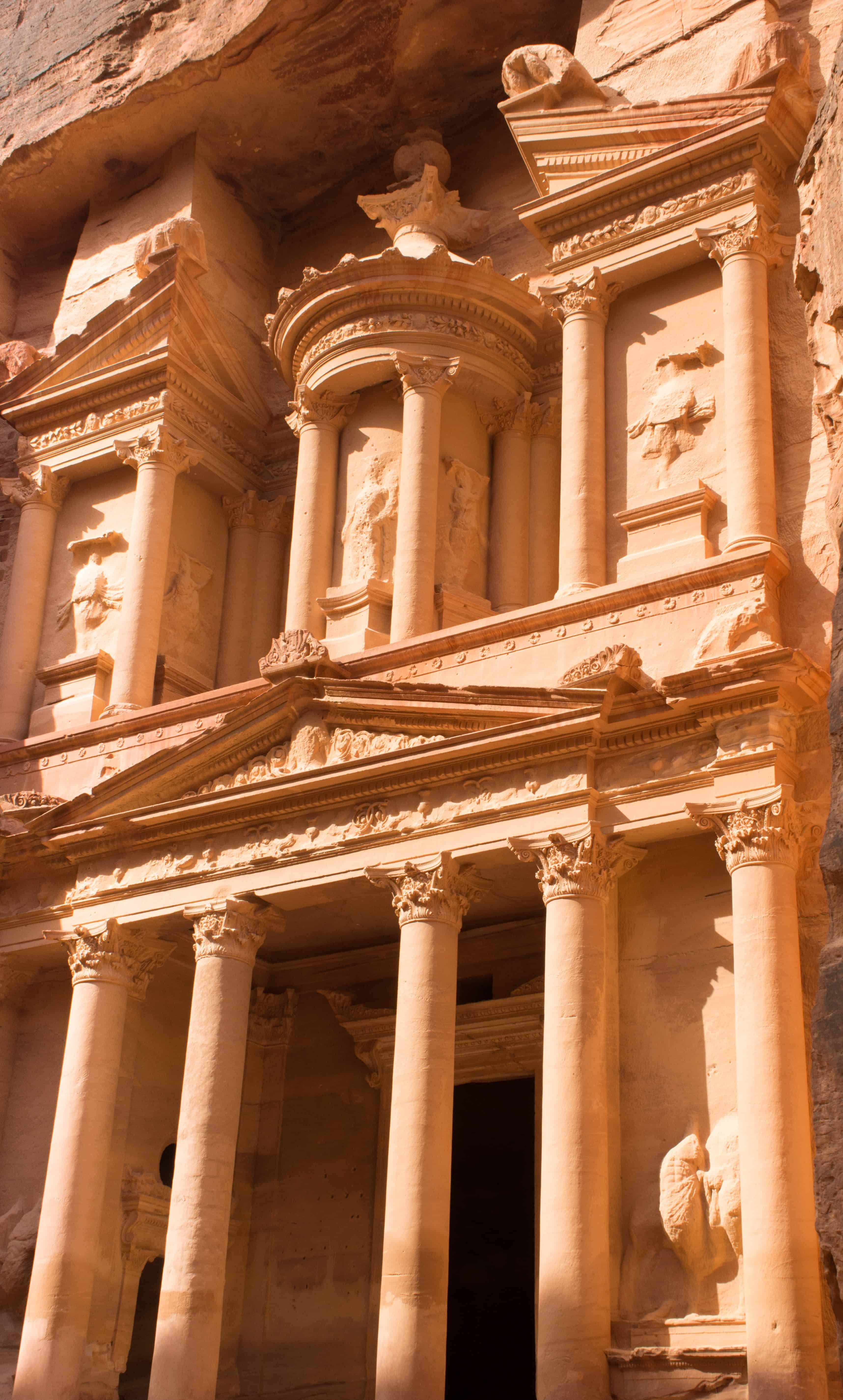 Petra's Famous Treasury in Kingdom of Jordan