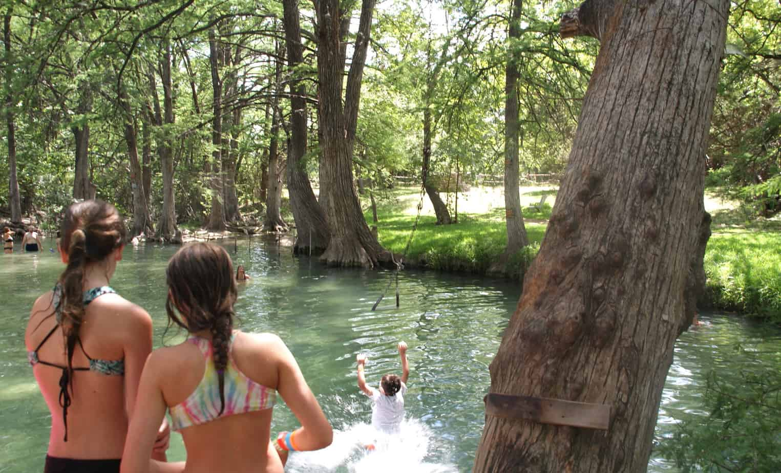 Swingers in hill country