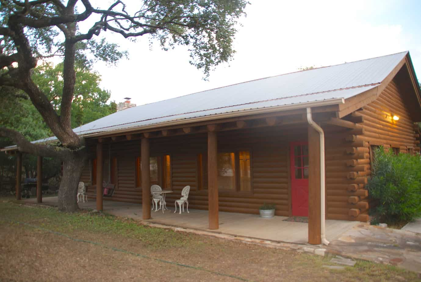 park porch gallery cottages pin wimberley casual back cabins home model texas