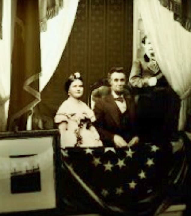 Last Known Photo of Lincoln before Assassination