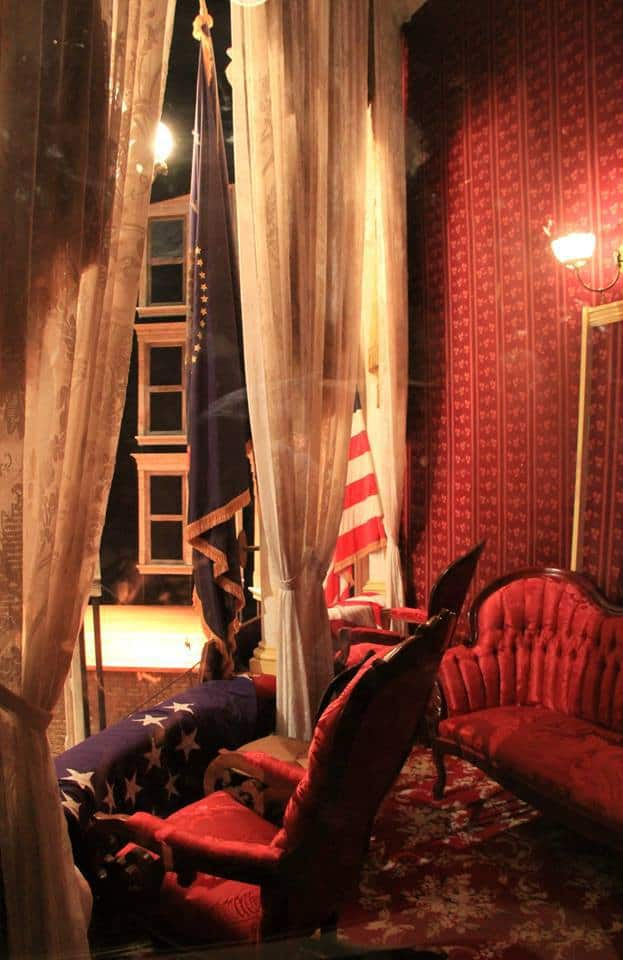 Presidential Box at Ford's Theater