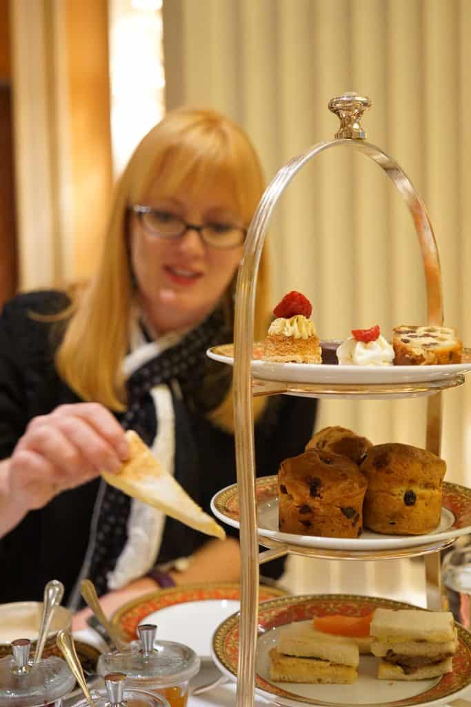 Hotel Grande Bretagne High Tea Delights