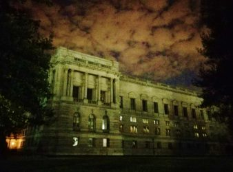 Haunted Sky at the Library of Congress