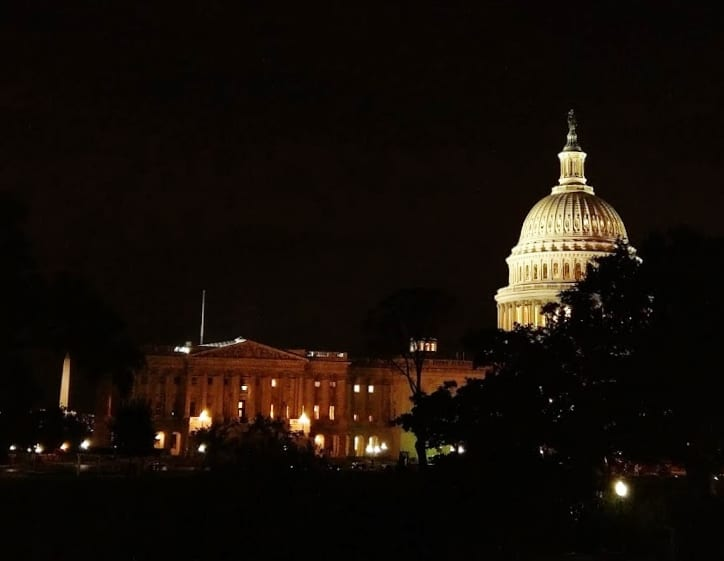 Capitol and White House