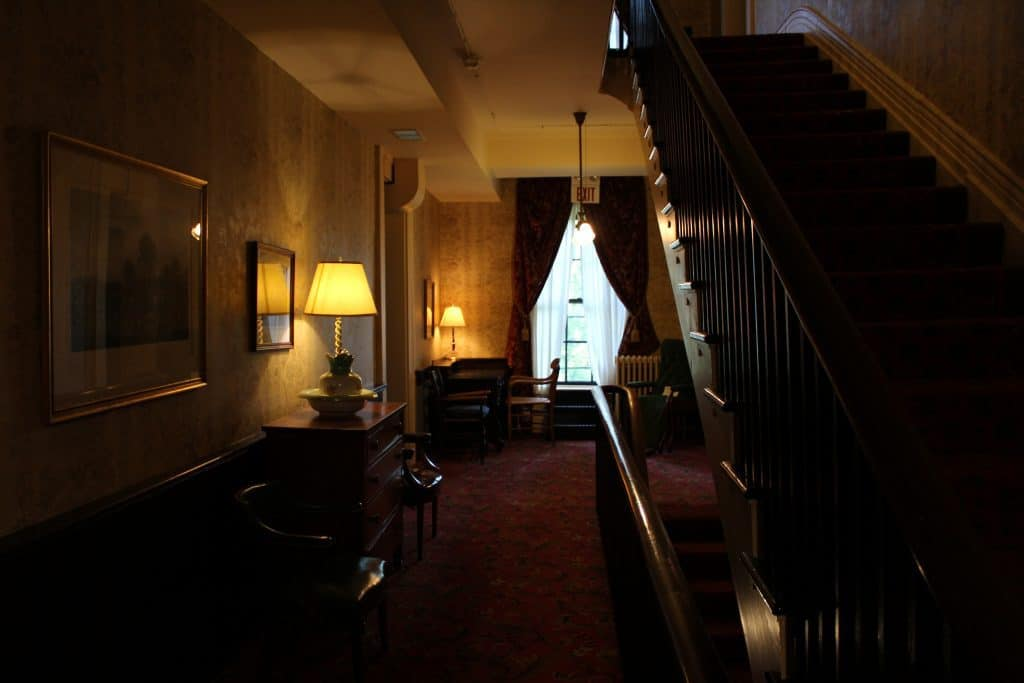 Beaumont Inn Staircase