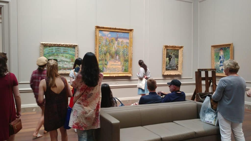 National Gallery of Art People Watching