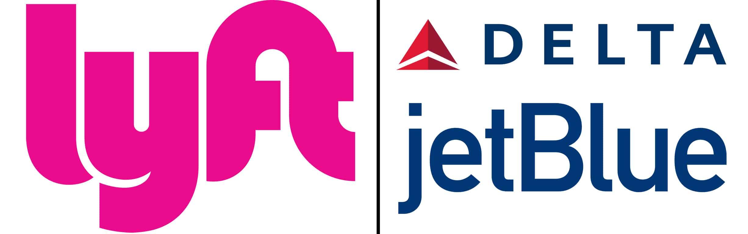 Lyft partners Delta and JetBlue