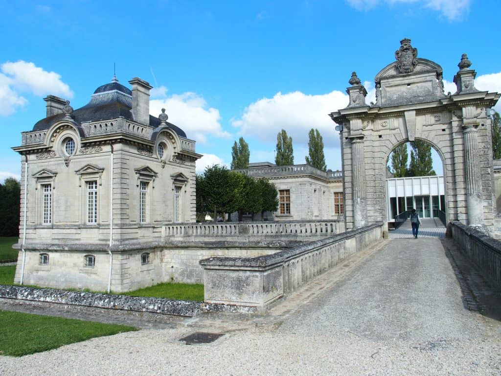 Entrance to the Franco-American Museum at the Château de Blérancourt