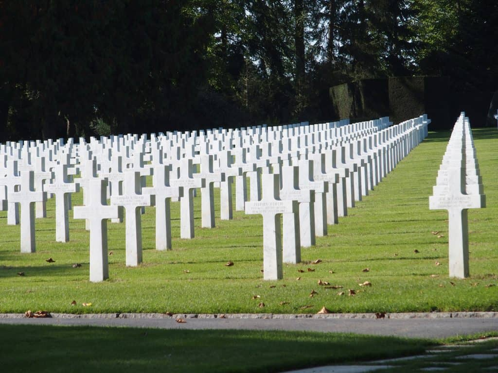 The American Cemetery Aisne-Marne at Belleau