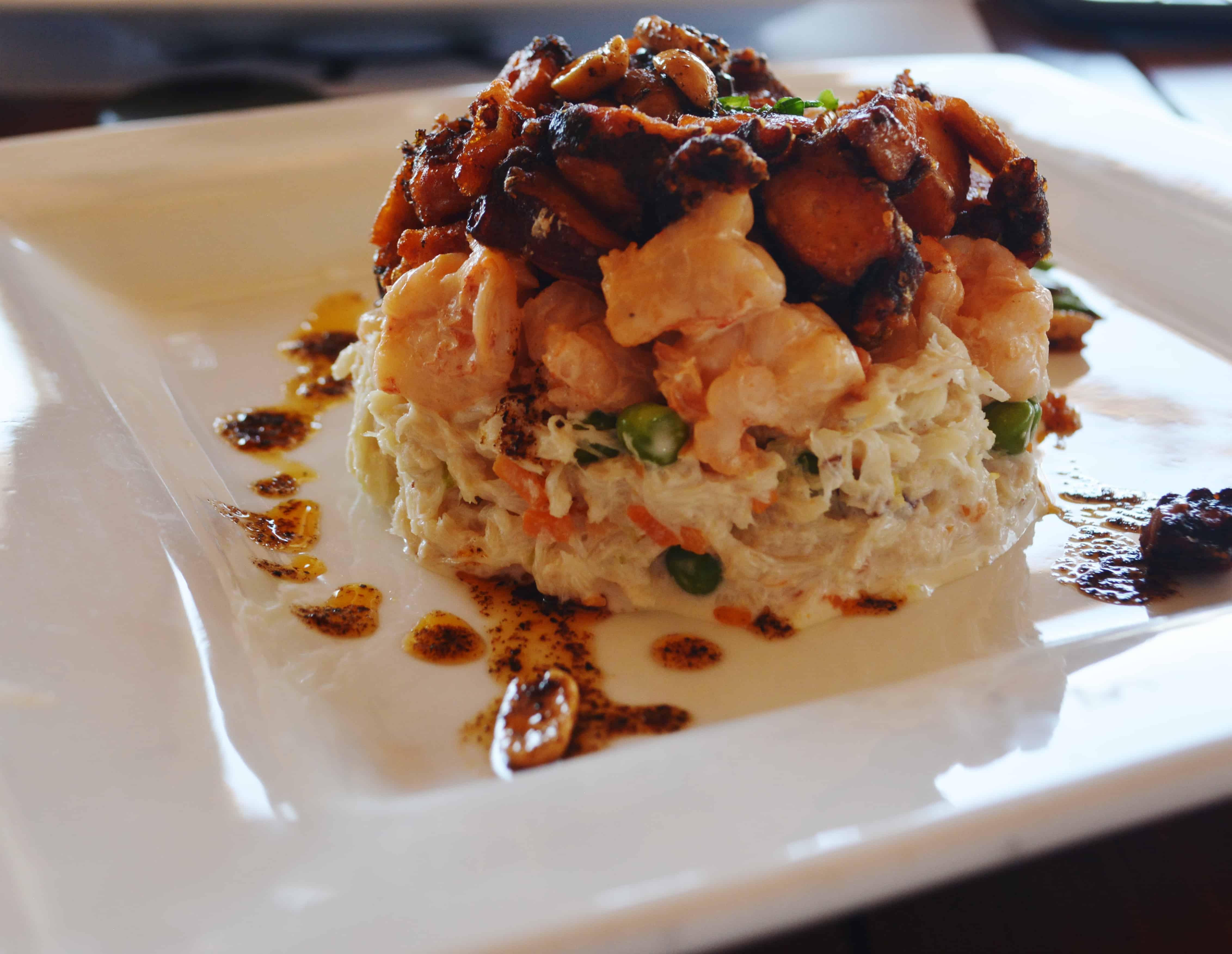 Great Seafood at El Oktopus