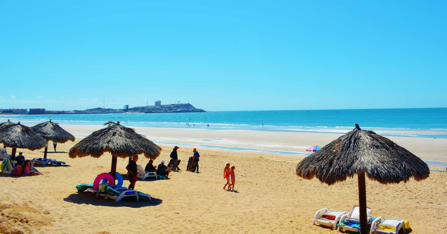 Sandy Beach at Las Palomas