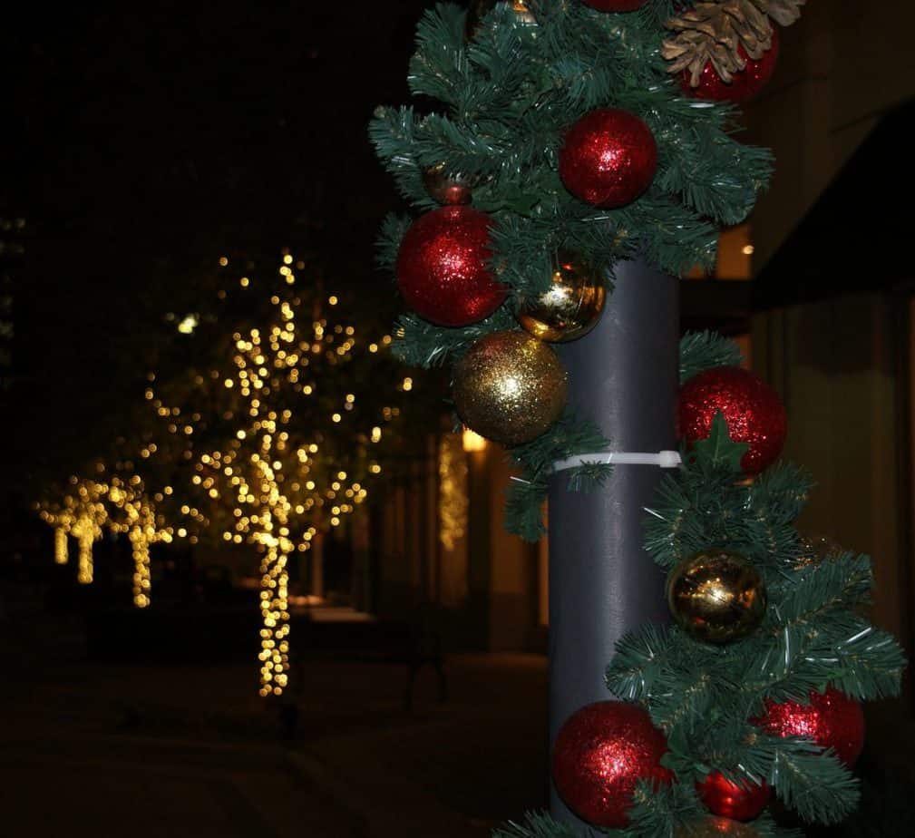Mall Ornaments and Lights
