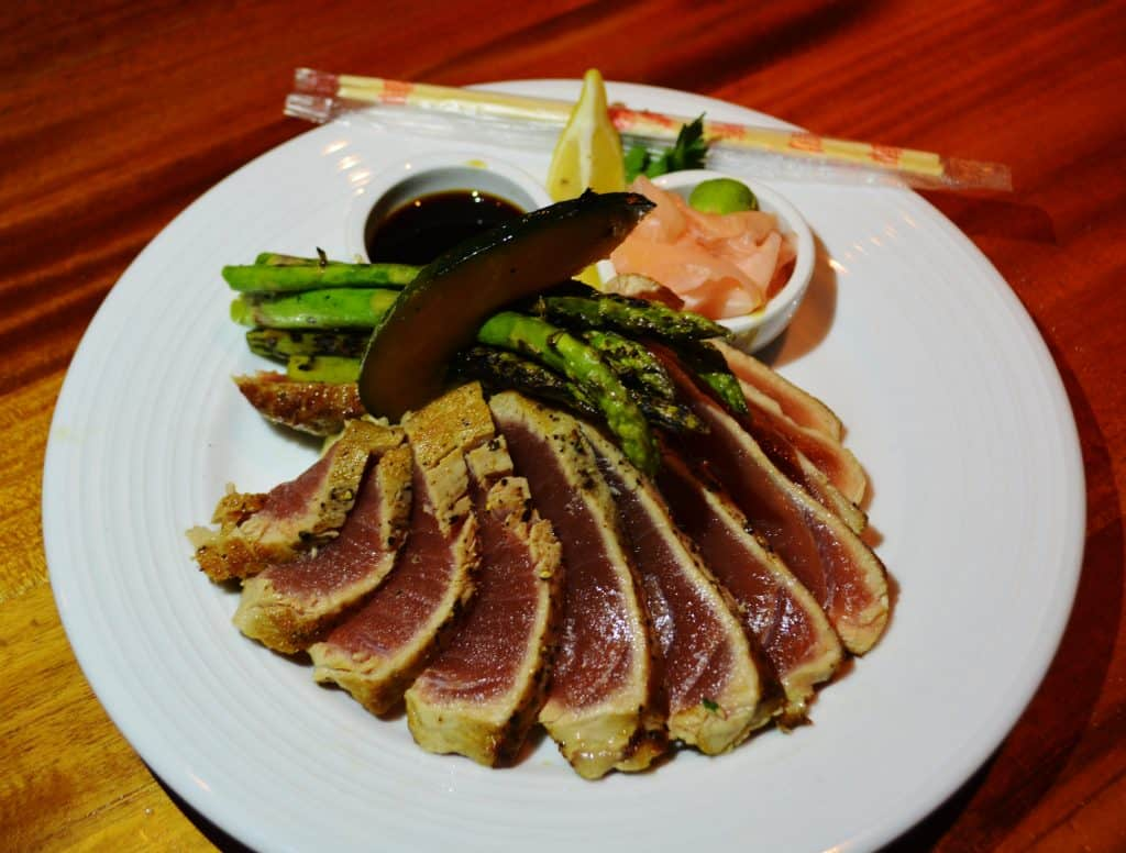 Ahi Tuna at The Galley Grill