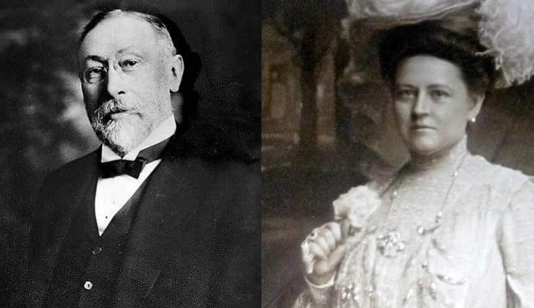 George C. Boldt and his beloved Louise