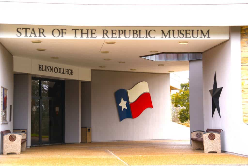 Star of the Republic Museum exterior