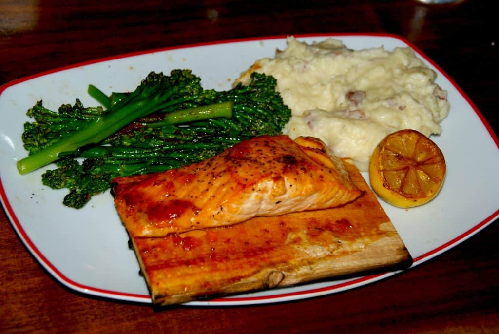Founding Farmers Salmon