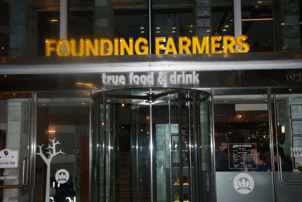 Founding Farmers DC Sign